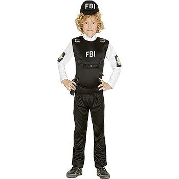 Guirca- Disfraz 7-9 años Policía FBI, u (85962.0): Amazon.es ...