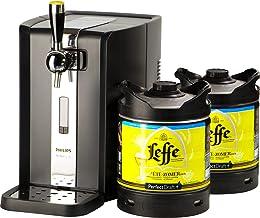 Tireuse à Bière PerfectDraft et 2 fûts 6L - 10 euros de consigne inclus - Idée cadeau (Tireuse à Bière - 2 fûts de Leffe d...