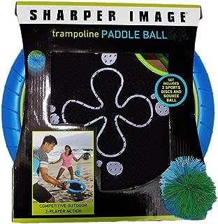 Sharper Image Trampoline Paddle Ball Set