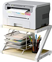 Desktop Stand for Printer – Desktop Shelf with Anti – Skid Pads for Space..