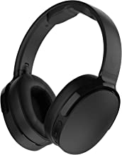 Skullcandy Hesh 3 Bluetooth Wireless Over-Ear Headphones with Microphone, Rapid Charge 22-Hour Battery, Foldable, Memory Foam Ear Cushions for Comfortable All-Day Fit, Black