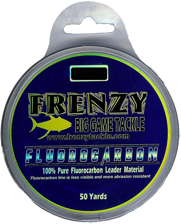 Frenzy 80Pound Flugoldcarbon Leader 50Yards Clear
