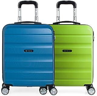 Estudiante Maleta Cabina de Viaje R/ígida 4 Ruedas Trolley 55 cm ABS ITACA Equipaje de Mano 71150 Color Antracita Peque/ña Pr/áctica C/ómoda y Ligera Low Cost Ryanair