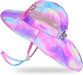 Kids Sun Hat UV Protection Unicorn Summer Beach Play Hats...