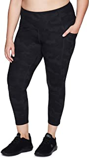 RBX Active Women's Plus Size Cotton Workout Gym Yoga Leggings