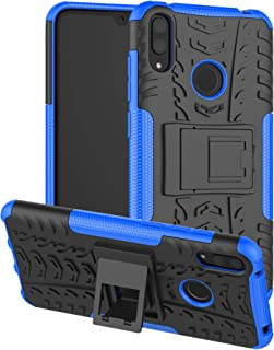 Labanema Heavy Duty Shock Proof Rugged Cover Dual Layer Armor Combo Protective Hard Case Cover for Huawei Y7 2019/ Y7 Pro ...