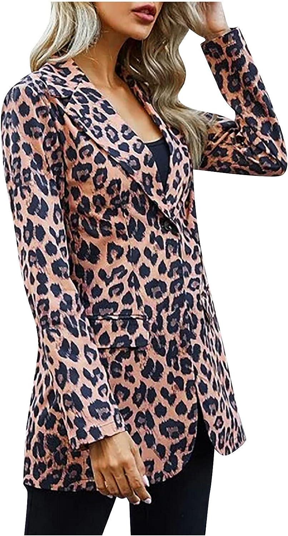 Blazer for Womens Plus Size Suit Floral Business Dress Jacket Single Button Cardigan Coat Tuxedo for Wedding Party