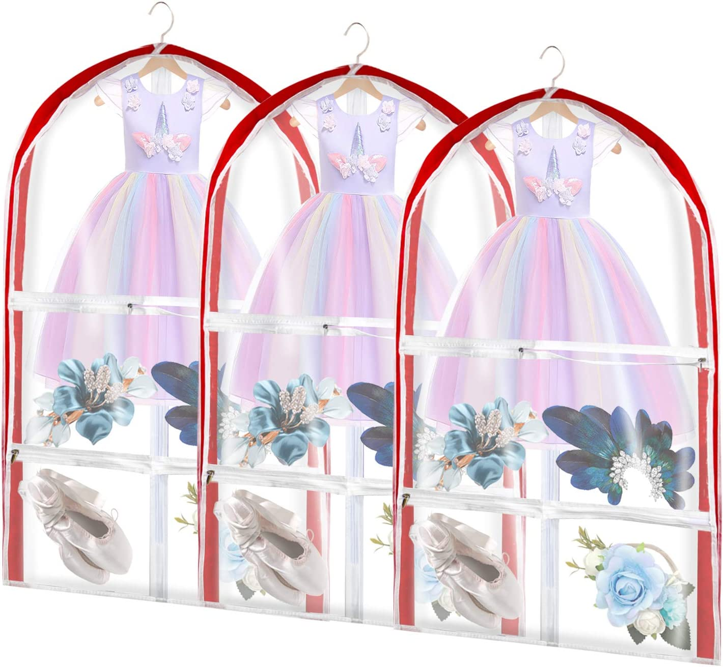 Kids Garment Bags Not Come with 35 Costume Opening large release sale inch Hanger Ranking TOP3 Ba Dance