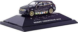 """herpa 102155 Mercedes-Benz EQC Christmas car 2019"""" Miniature for Craftsmen and Collectors"""