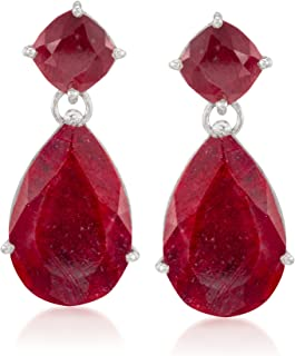Best silver and ruby earrings Reviews