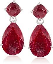 Best sterling silver ruby earrings Reviews