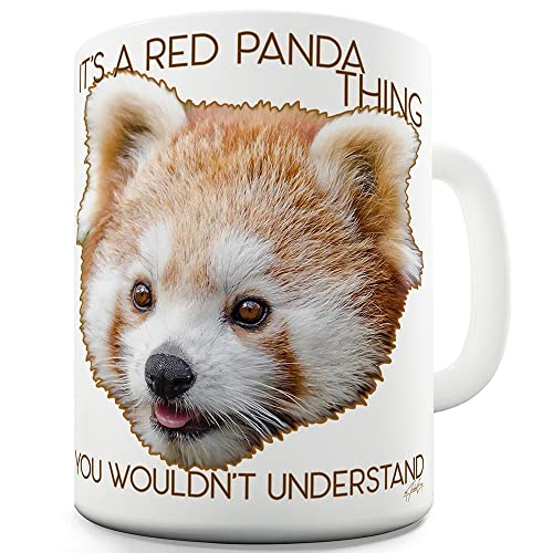 c08a472d9 TWISTED ENVY It's A Red Panda Thing Ceramic Novelty Gift Mug