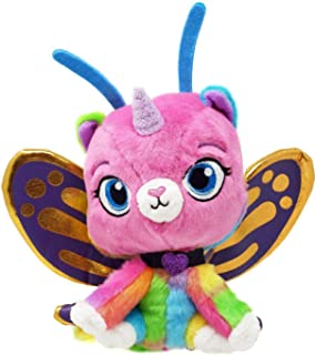 Rainbow Butterfly Unicorn Kitty - Butterfly Felicity Exclusive Plush 8 inch