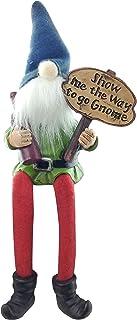 Lucky Bar, Kitchen Shelf Sitter Gnome with Dangling Legs | Spring Home Decor, Knick Knacks Home Decor, Bar, Home Office De...