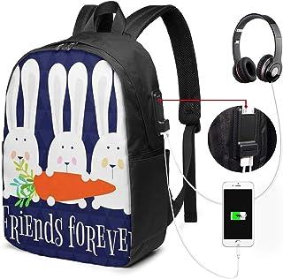 SNFDFS Mochila Bolsas con Puerto USB 15,6 Pulgadas, Moda Mochila De Viaje Camping Casual Mochila Tocado de Plumas de Calavera de Tigre Mochila Escolar Mochila