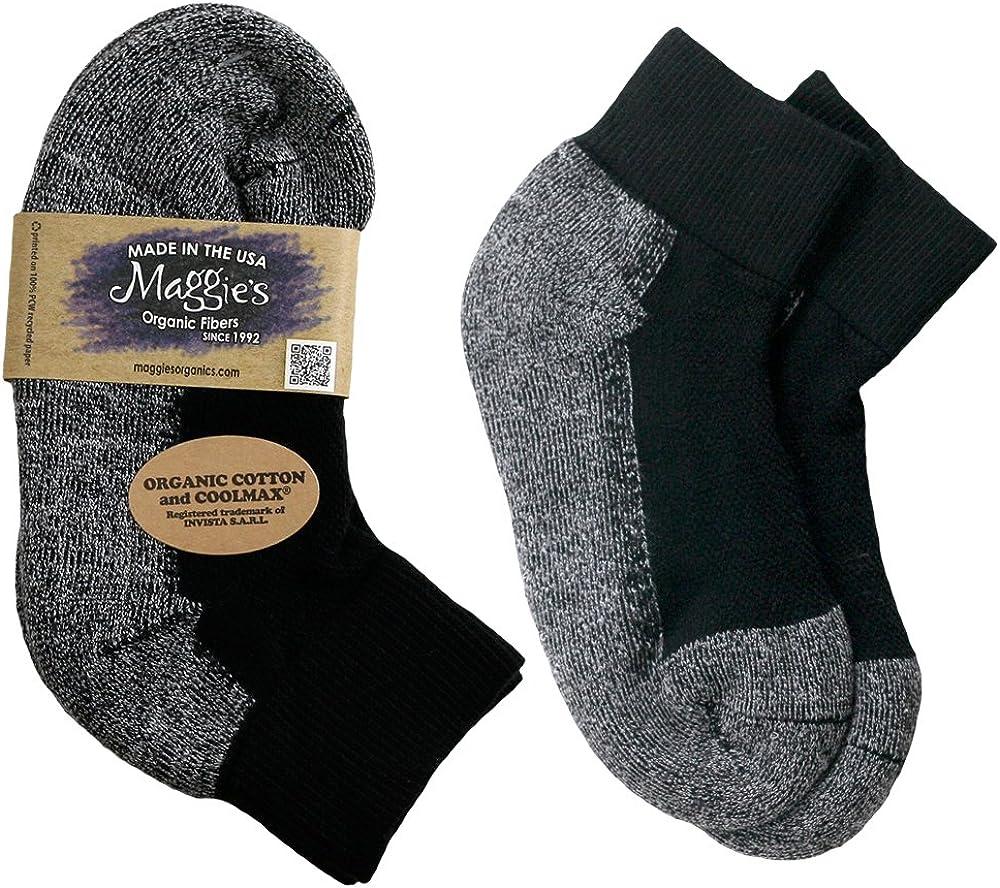 Maggie's Organics - Organic Cotton Sport Ankle Socks - 1 Pair - Unisex