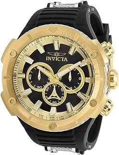 Invicta 29596 Men's Bolt Black Dial Two Tone Strap Chrono Watch