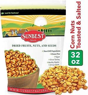 SunBest Corn Nuts Toasted & Salted (Toasted Corn, 2 Lb)