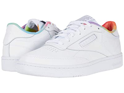 Reebok Lifestyle Club C 85 (White/White/White) Shoes