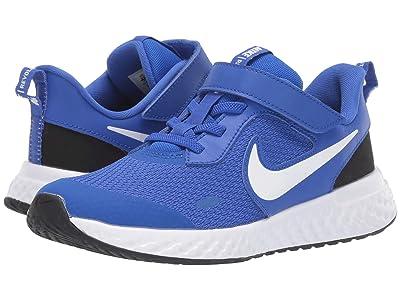 Nike Kids Revolution 5 (Little Kid) (Racer Blue/White/Black) Boys Shoes