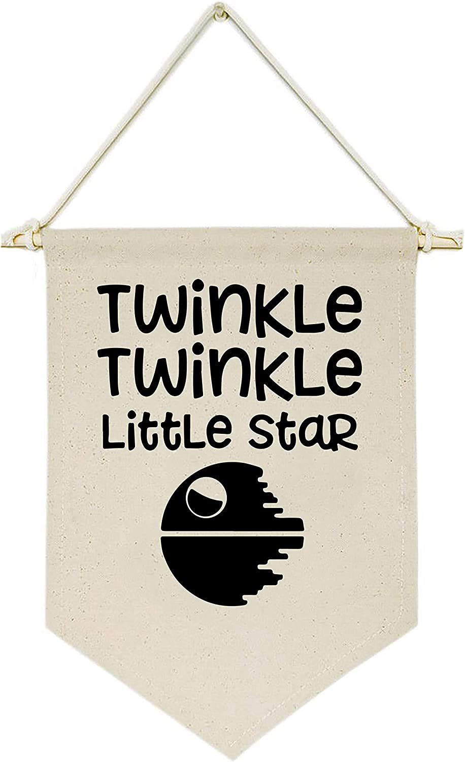 Topthink Limited time for free shipping online shop Twinkle Little Star - Hanging Banne Flag Canvas