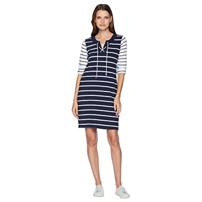 Tommy Bahama Floricita Stripe Shift Dress (Ocean Deep) Women