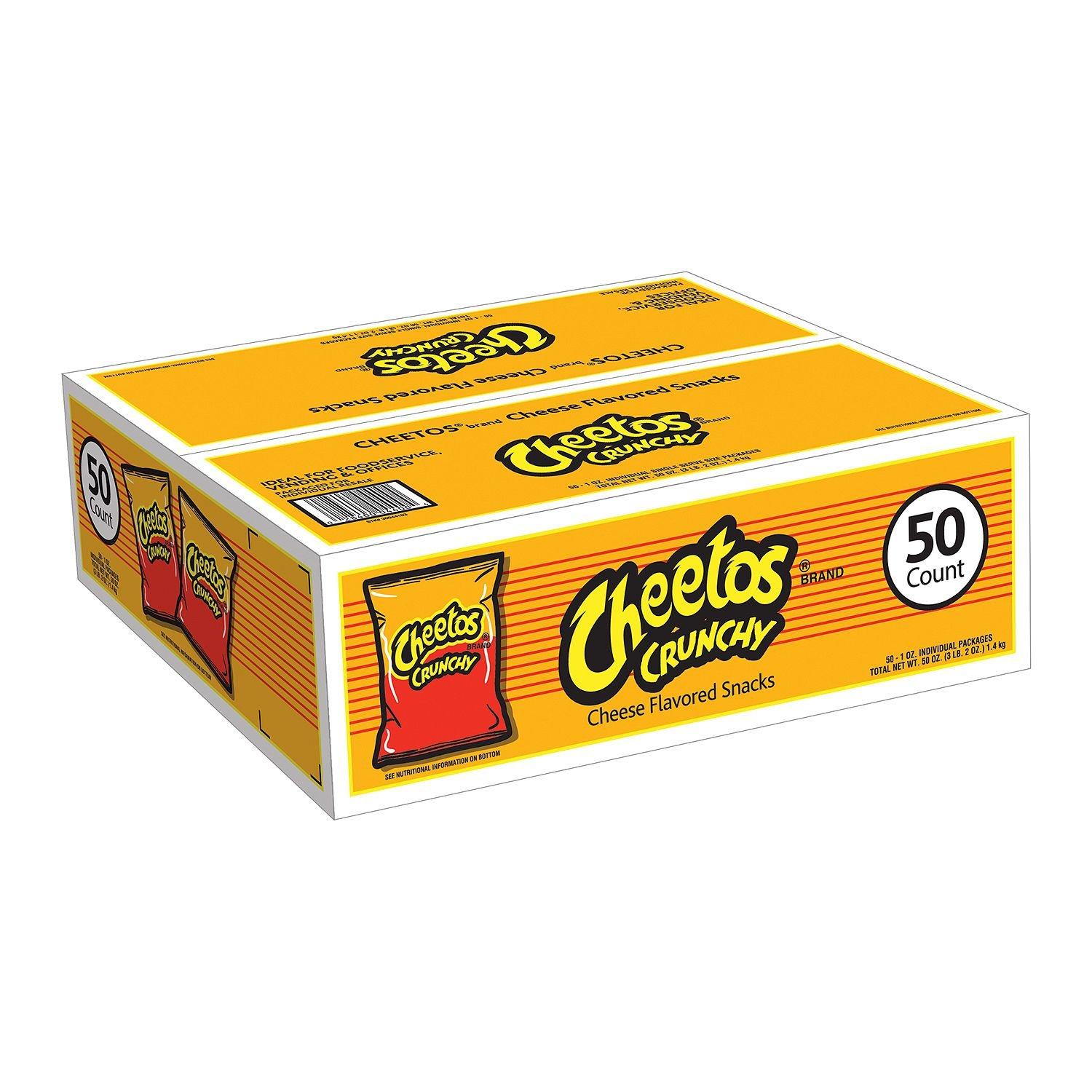 Cheetos Crunchy Challenge the lowest price of Japan ☆ 1 Award oz. 50 2 ct. pack