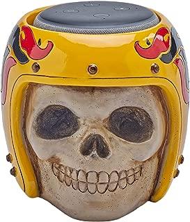 Skull Statue Crafted - Smart Speaker Stand Holder for Echo Dot 3rd Generation Speakers Holder Best Gift Idea for Smart Home
