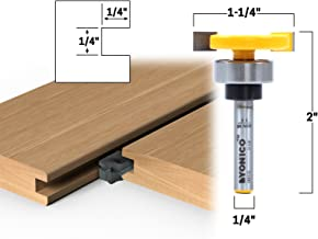 Best cutting a groove with a router Reviews