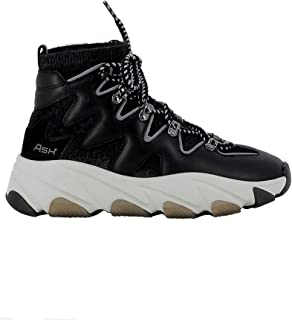 ASH Luxury Fashion Womens ESCAPE03BLK Black Hi Top Sneakers | Fall Winter 19