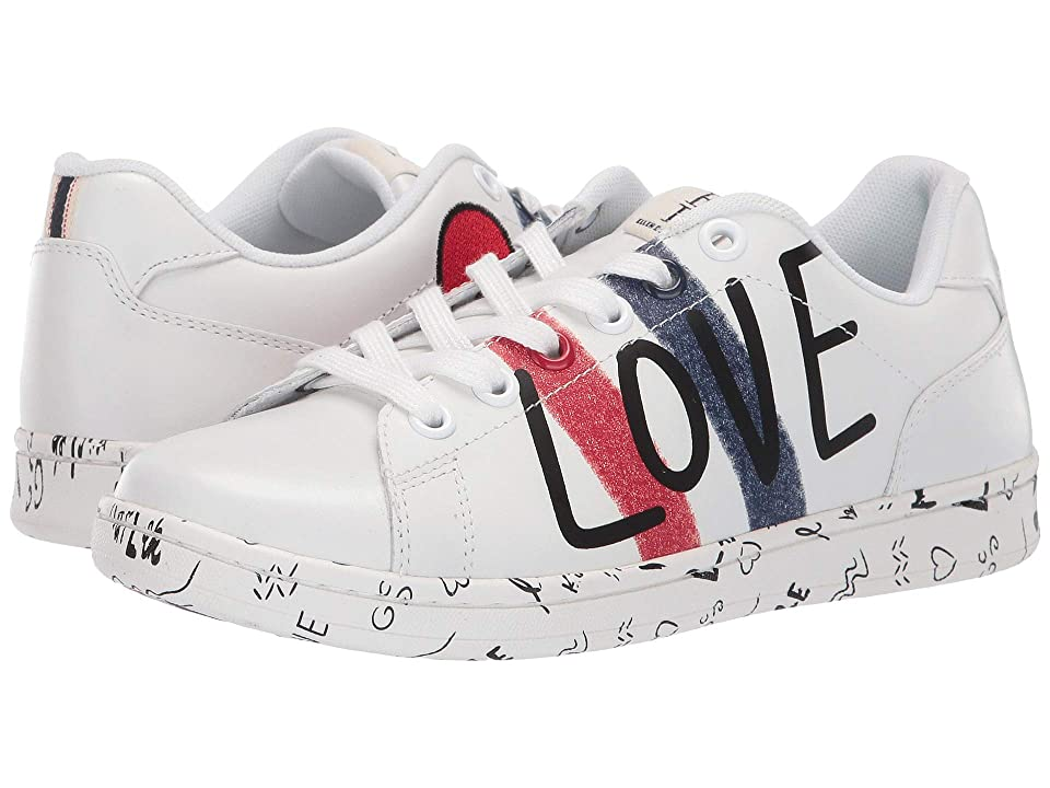 ED Ellen DeGeneres Chadoodle Sneaker (Pure White) Women