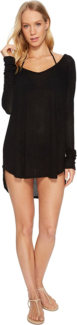 Black Drifter Beach Sweater