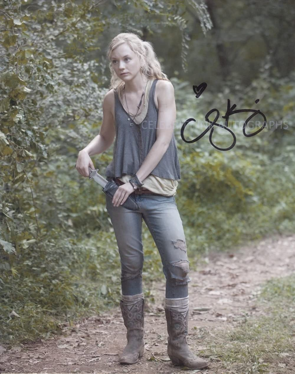 EMILY Discount is also underway KINNEY as Beth Greene - GENUINE The 8