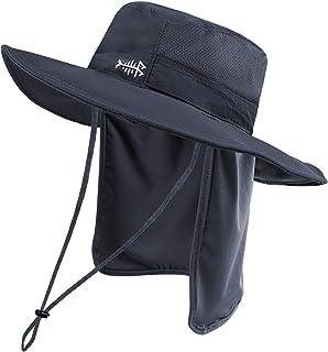 Bassdash (バスダッシュ) 釣り 帽子 【撥水加工 UPF50+ UVカット 速乾 軽薄】 キャップ メンズ フィッシング 日除け帽子 農作業 登山