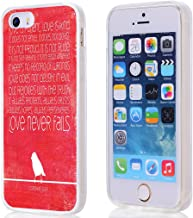 Case for iPhone SE Christian Quotes, Hungo Compatible Soft TPU Silicone Protector Cover Case Replacement for iPhone 5/5S/SE Bible Verses Do Not Be Afraid I Am with You Isaiah I5-BIBLEC (54)