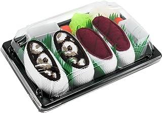 Rainbow Socks, Mujer Hombre Calcetines Sushi Atún Pulpo - 2 Pares