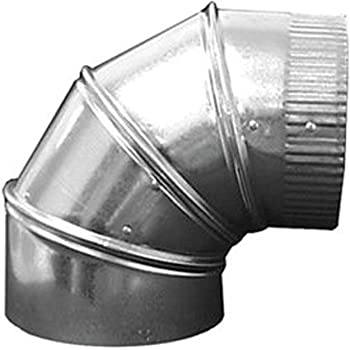 4 Duct Elbow 90 Degree Hvac Ductwork Vent Pipe Ducting Components Amazon Com