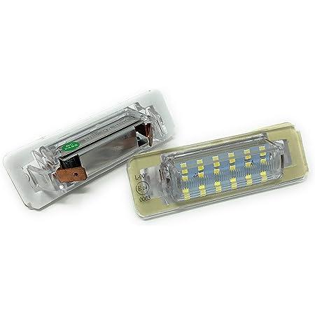 Do Led B26 Led Kennzeichenbeleuchtung Kompatibel Für Mercedes W124 W201 W202 Vorfacelift Runde Ecken Xenon Weiß Auto