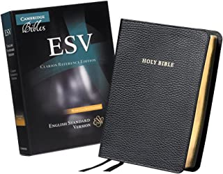 ESV Clarion Reference Bible, Black Calf Split Leather, ES484:X