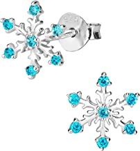 Best sterling silver snowflake earrings and necklace Reviews