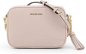 Michael Kors Medium Leather Camera Crossbody Bag