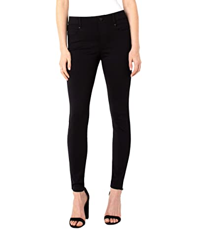 Liverpool Petite Gia Glider Knit Leggings (Black) Women