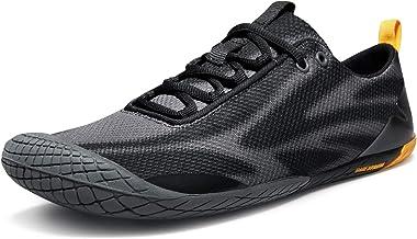 TSLA Men's Barefoot Training Running Minimalist Trail Shoes