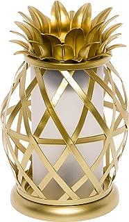 Mindful Design Golden Pineapple Electric Wax Warmer - Tropical Home Fragrance Wax Burner (Gold)
