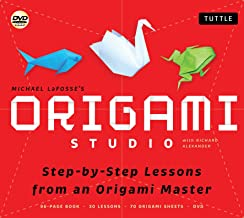 Origami Studio Kit: 30 Step-by-Step Lessons with an Origami Master: Kit with Origami Book, 30 Lessons, 70 Origami Papers a...
