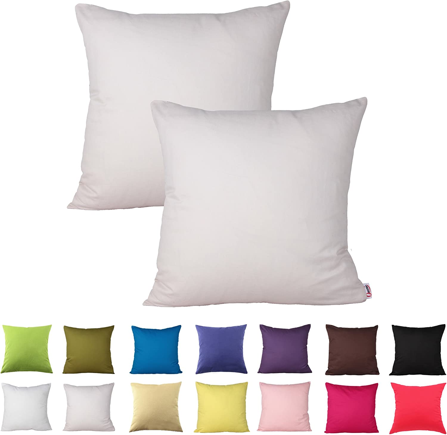 Queenie - Don't miss the campaign 2 Pcs Solid Decorative Free shipping Color Cotton Pillowcase Cushion
