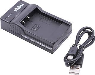 vhbw USB Akkuladegerät kompatibel mit Sony Cybershot DSC W275, DSC W290, DSC W30, DSC W300, DSC W35, DSC W40, DSC W50, DSC W55, DSC W70 Kamera