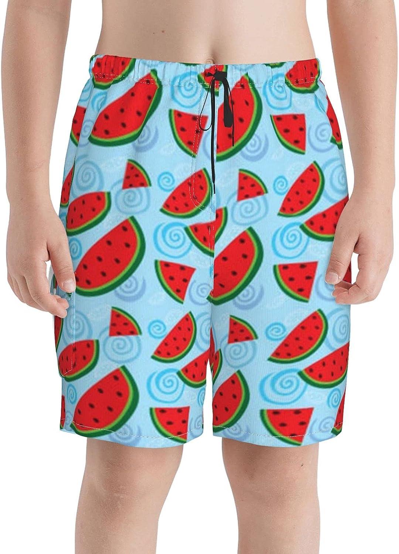 Neddelo Watermelon Boys Swim Trunks Boardshorts Beach Reservation Max 89% OFF Swi Teens