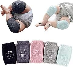 5 Pairs Baby Crawling Anti-Slip Knee Pads, Baby Toddlers Kneepads Baby Leg Warmers