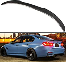 Cuztom Tuning Carbon Fiber M4 Look Performance Style Trunk Spoiler Wing Fits for 2013-2018 BMW F30 328i 335i & F80 M3